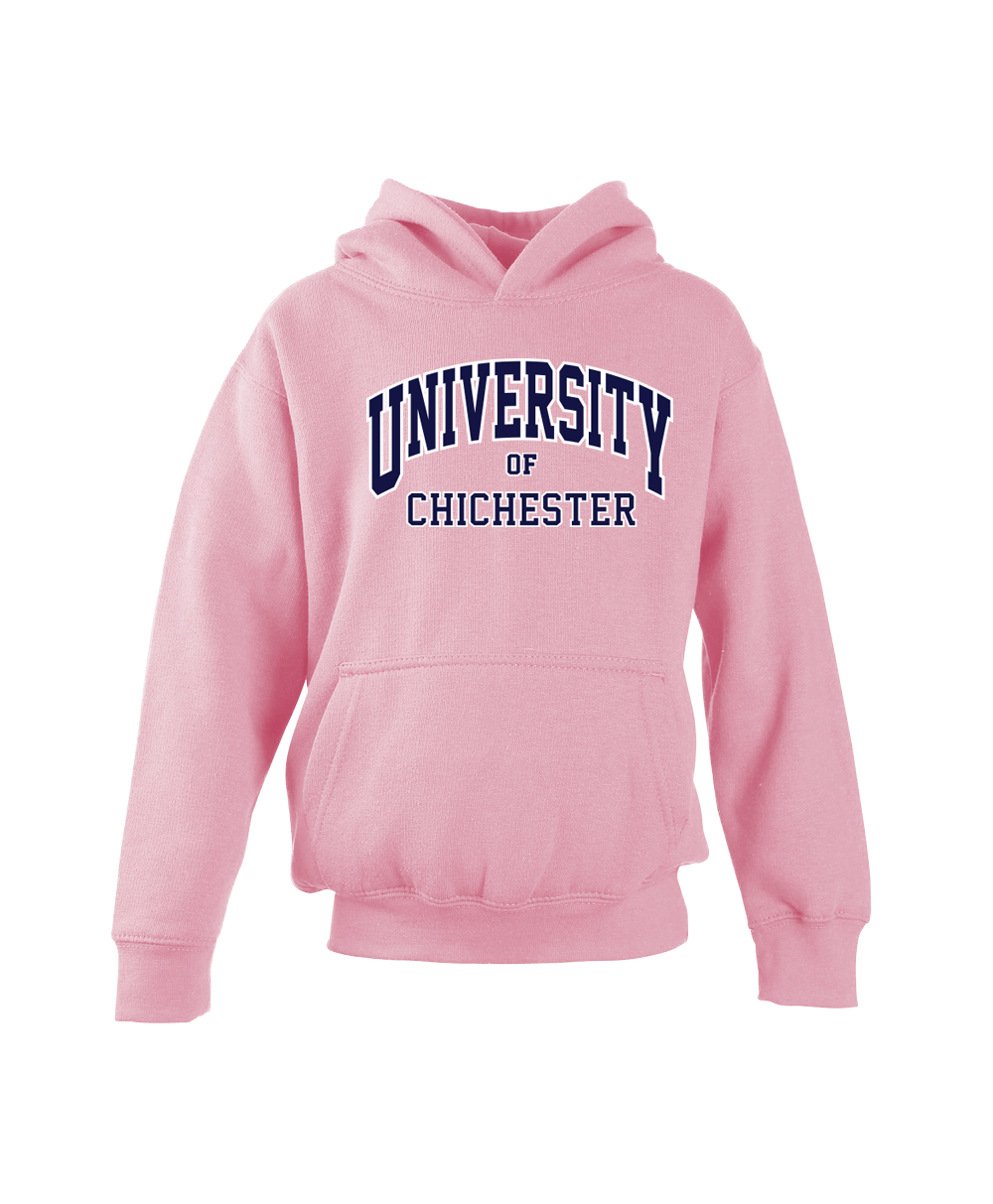 W72k-2001-Chichester University  Kids Heavyweight Hooded Top